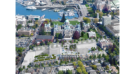 Capital Park Aerial