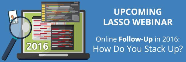 Lasso Webinar: How Do You Stack Up?